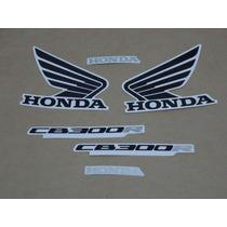 Kit Adesivos Honda Cb300r 2011 Dourada - Decalx