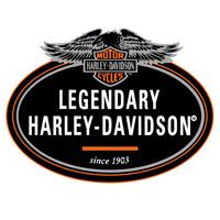2 Adesivos Legendary Harley Davidson P/ Moto Carro Notebook