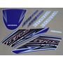 Kit Adesivos Honda Nxr150 Esd Bros 2005 Azul - Decalx