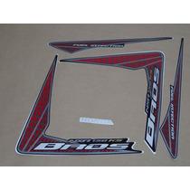 Kit Adesivos Honda Nxr150 Ks Bros 2009 Preta - Decalx