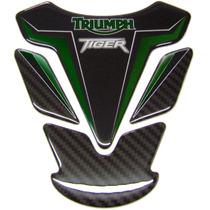 Protetor De Tanque Triumph 800 E Triumph 800 Xc Resinado