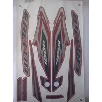 Kit Adesivo Nx4 Falcon 2013 Vermelha Frete Grátis