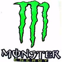Adesivo Monster Medio Verde Resinado