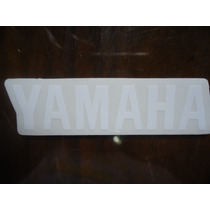Adesivo Yamaha Rabeta Rd 350 Branco Fundo Transp