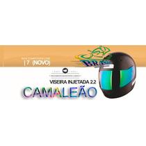 Viseira 2.2 Ebf 7 Novo 2012 Camaleão Ant/risco Frete Gratis