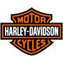 Adesivo Logo Harley Davidson 40x32 P/ Moto Carro Notebook