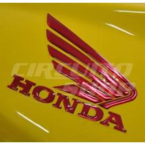 Adesivo Faixa Resinada Asa Honda P/ Titan Fan 150 Ano 10-13