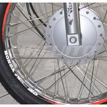 Friso Adesivo Refletivo Personalizado Mod04 Moto Honda Fan