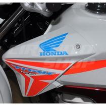Adesivo Faixas Tuning Sobreposicao Moto Honda Titan 150 2014