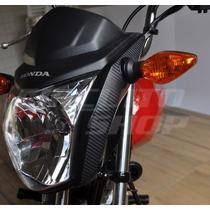 Adesivo Carenagem Frontal Moto Honda Fan Titan A Partir 2014