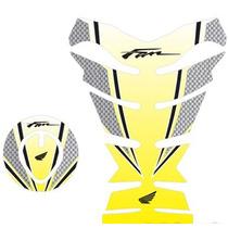 Protetor 3d Tanque Tankpad Bocal Moto Honda Fan 125 150 M03