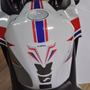 Tankpad Faixa Tripla Tanque Tuning Moto Honda Cb Cbr 500 F R