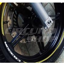 Friso Adesivo Tuning Roda Refletivo M05 Moto Honda Cb 300 R