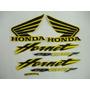 Jogo Faixa Adesivo Cb 600 Hornet - 2006 - Amarela