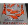 Jogo De Faixa Mobilete Caloi 98 (nova) Laranja