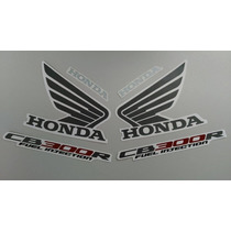 Kit Adesivos Honda Cb-300r 2009 E 2010 Prata