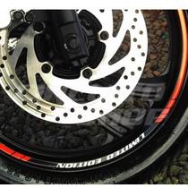 Friso Adesivo Refletivo Rec02 Roda Moto Yamaha Fazer 250