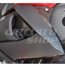 Adesivo Carbon Protetor Carenagem Aba Tanque Moto Yamaha Xj6
