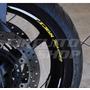 Friso Adesivo Roda M04 Refletivo Moto Yamaha Xj6 Tuning 600