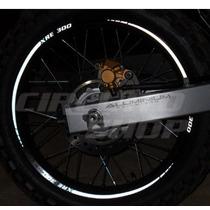 Friso Adesivo Refletivo Tuning Roda Rec04 Moto Honda Xre 300