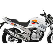 Kit Adesivo Moto Honda Cg 125 150 Fan Titan Yamaha Dafra
