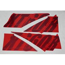 Adesivo Xt660 R 2009 Vermelha, Faixa Original Completa