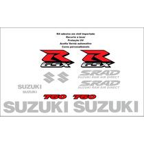 Kit Adesivo Suzuki Srad 750 12 Adesivos - Vinil Importado