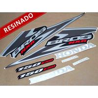 Kit Adesivos Nxr150 Esd Bros 2006 Preta - Resinado - Decalx