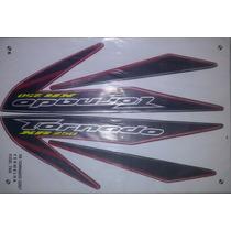 Kit Adesivo Xr 250 Tornado 2007 Vermelha - Frete Grátis
