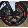 Friso Refletivo Adesivo Roda Interno Moto Honda Cb 650 F M2