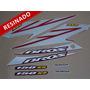 Kit Adesivos Nxr150 Ks Bros 2008 Vermelha - Resinado- Decalx