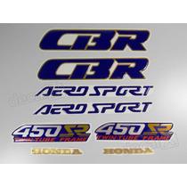 Kit Adesivos Cbr 450sr Aero Sport Resinado - Decalx