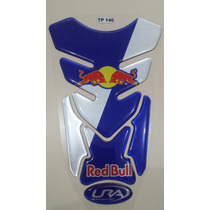 Adesivo Protetor Tank Pad Red Bull Honda Yamaha Suzuki Bmw