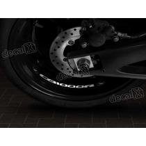 Adesivos Centro Roda Refletivo Moto Honda Cb1000r Rd4 Decalx