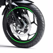 Friso Adesivo Refletivo Roda Aro M2 Moto Kawasaki Z 300 Z300