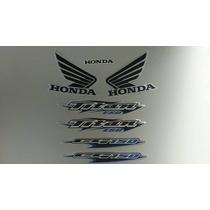 Kit Adesivos Honda Titan 150 2006 Esd Prata