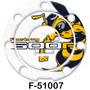 Protetor Boca De Tanque Adesivo Fuel Cap Para Moto Hornet