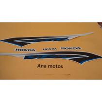 Adesivo Honda Biz 125 Ex 2014 Branca Frete R$9,90