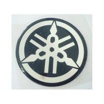 Adesivo Emblema Resinado Yamaha 4,5 Cm Tanque Carenagem 45mm