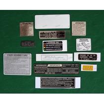 Adesivos Advertencia Honda Cbx 750 87 7galo Hollywood