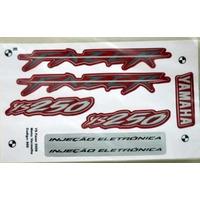 Kit Adesivo Yamaha Fazer 250 2008 Vermelha - Frete R$9,90