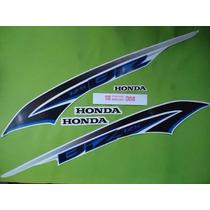 Kit Jogo Adesivo Honda Biz 125 Ex 2014 Branca Frete R$9,90