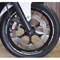 Friso Refletivo Adesivo Roda Interno Moto Honda Cbr 500 R T1