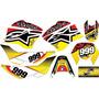 Kit Plotagem Adesivo Grafico Moto Trilha Bros 125 150cc