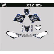 Adesivos Gráficos Personalizados Xtz 125 Cola 3m Importada