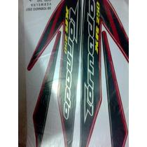 Adesivo Moto Xr 250 Tornado 2007 Verm Completa Frete Gratis