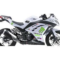 Adesivo Ninja 250 300 Kit Monster Especial