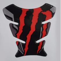 Protetor Tanque Tankpad Monster Red Moto Honda Bros 125 150