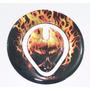 Protetor Bocal Tanque Moto Honda Bros 125 150 Nxr Skull 01