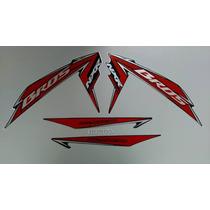 Kit Adesivos Honda Nxr 150 Bros Esd 2010 Preta